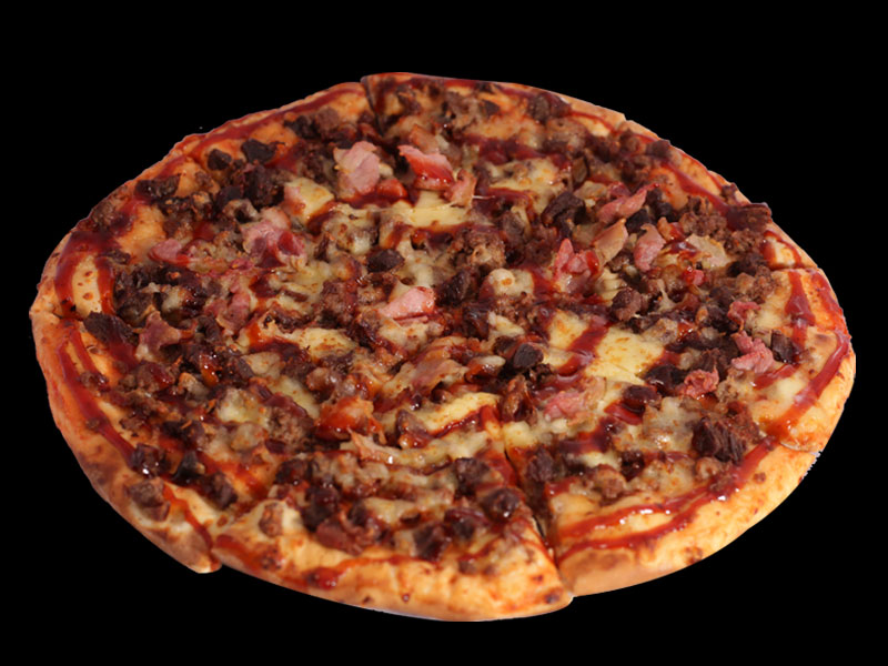 Flame Grill - Mega Meat Pizza