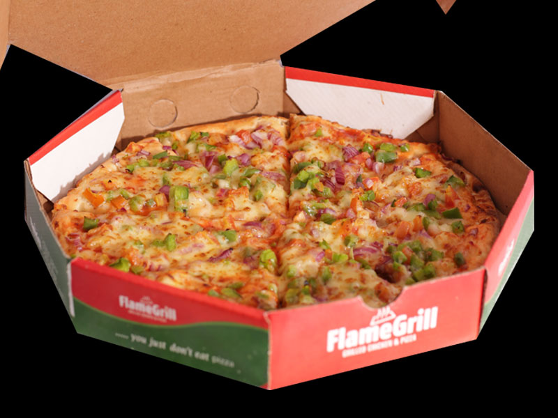 Flame Grill - Vegetarian Pizza